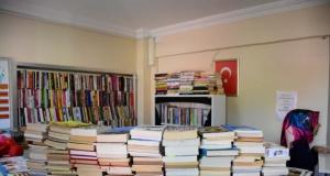 Sağlıklı Yaşam Merkezi İlk Kütüphanesini Kurdu