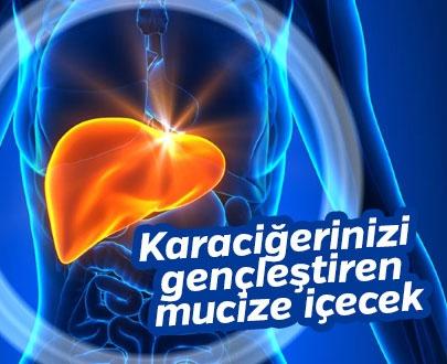 Karaciğerinizi Gençleştiren Mucize İçecek