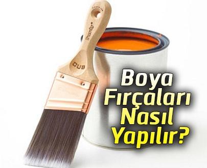 Boya Fırçaları Nasıl Yapılır?
