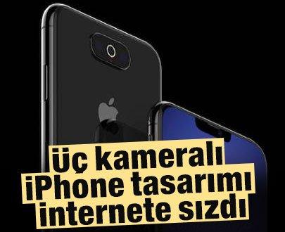 Üç Kameralı iPhone Tasarımı İnternete Sızdı