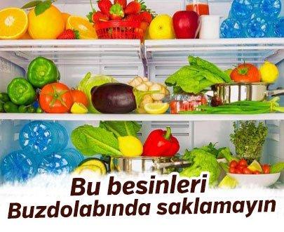 Bu besinler buzdolabına koyulduğunda hastalanmamıza neden oluyor
