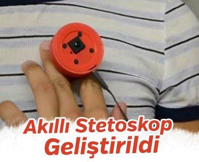 Yapay zeka ile çalışan akıllı stetoskop geliştirildi