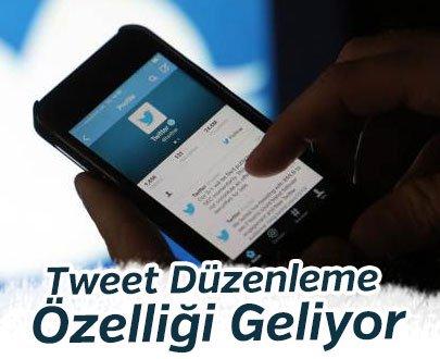 Twitter İçin Tweet Düzenleme Özelliği Geliyor