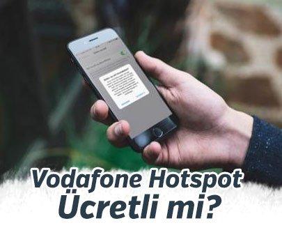 Vodafone Hotspot Ücretli mi?