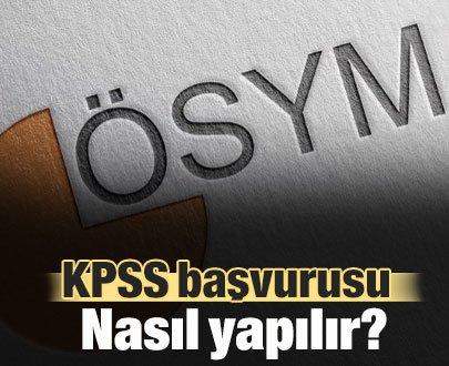 KPSS Başvurusu Nasıl Yapılır?