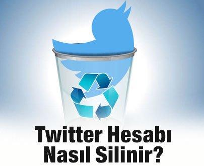 Twitter Hesabını Kalıcı Olarak Silmek