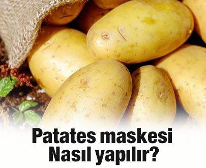 Patates maskesi nedir? Patates maskesi nasıl yapılır?