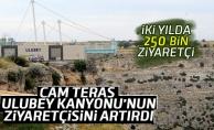 Cam Teras Ulubey Kanyonu'na ilgiyi artırdı