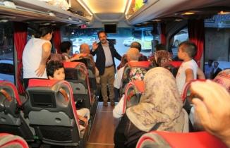 Uşaklı şehit aileleri Güneydoğu gezisine çıktı
