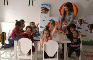 Bu okulda öncelik çocukların kişilik gelişimine veriliyor