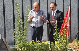 Şehit Mehmet Çetin mezarı başında anıldı