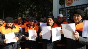 Uşak'ta 250 temizlik işçisi gönüllü askerlik için başvurdu