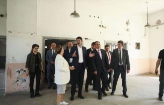 Çevre ve Şehircilik Bakanı Murat Kurum Uşak'ta